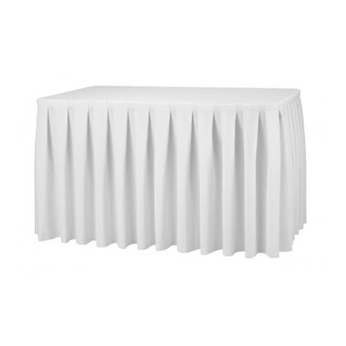 Wedding table skirts wholesale manufacturers india